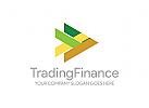 Bank Logo, Finanzen Logo