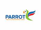Parrot Logo, Papagei Logo
