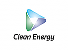 Dreieck Logo, Energie Logo, Industrie Logo, Technologie Logo