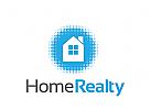 Klempner Logo, Haus Logo,  Immobilien Logo