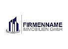Immobilien Logo, Grundstücke Logo, Architekt Logo, Bau Logo, Makler Logo