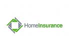 Haus Logo, Versicherungen Logo, Makler Logo