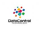 Daten Logo, Technologie Logo