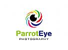 Fotograf Logo, Auge Logo, Optik Logo, Vision Logo