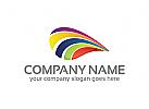 Farbe Logo, Bunt Logo