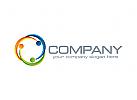 Menschen Logo, Gruppen Logo