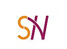 Logo Initial S und N