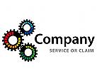 Logo abstrakt rund