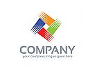 Soziale Logo, Gruppe Logo, Kommunikation Logo