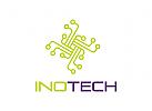 Technologie Logo, Internet Logo