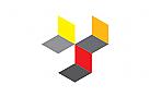 Zeichen, Signet, Logo, Abstrakt, Bau, Konstruktion, Technik, Handwerk, Logistik
