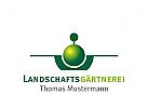Logo Baum, Garten