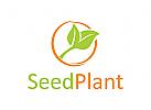 Natur Logo, Blatt Logo, Ökologie Logo