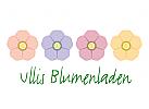 Vier zarte Blüten