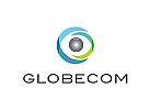 Logo, Auge, Globus, Optik, Kugel, Linse