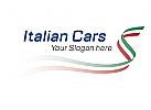 dynamische italienische Fahne