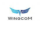 Logo, Flügel, Abstrakt, Wings, Vogel