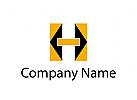 Logo Initial H