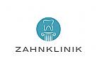 Logo, Zahn, Zahnklinik, Dentallabor
