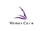 Kosmetik Logo, Pflege Logo