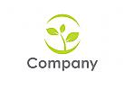 Zeichen, Signet, Logo, Pflanze, Natur, Heilpraxis, Wachstum