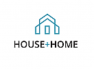 Ökologie, Zeichen, Skizze, Haus, Linie, Immobilie, Home, House