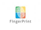 Fingerabdruck Logo