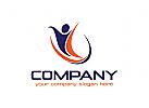 Person Logo, Sport Logo, Beratung Logo