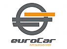 Abstraktes Euro-Kreis