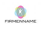 Logo, Mensch, Zentrum, Ellipsen, Transparent, Coaching