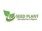 Blatt Logo, Natur Logo