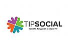 Pfeil Logo, Beziehung Logo, Sozial Logo
