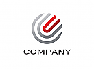 Logo, Kugel, Kreis, Rund, Buchstabe, U, Abstrakt, Global