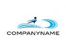 Zeichen, Signet, Logo, Mensch, Human, Sport, Surfing