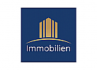 Dieses Logo ist geeignet für Finanzdienstleistung, Immobilienmakler, Architekten, Bauträger, , Hausverwaltung.