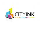 Immobilien Logo, Stadt Logo