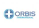 Welt Logo, Erde Logo