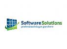 Daten, Technologie, Internet, Industrie, Marketing, Finanzen Logo
