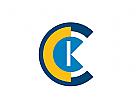 Logo Initialen C und K