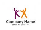 Logo zwei Menschen