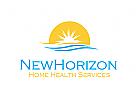 Horizont Logo, Sonne Logo
