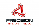 Dreieck Logo, Industrie Logo