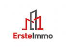 Erste Logo, Immobilien Logo, Bau Logo