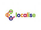 Reisen Logo, Kompass Logo