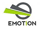Abstraktes E Logo