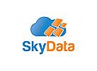 Wolke Logo,Technologie Logo, Daten Logo