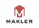 Buchstaben M, Immobilien Logo, Makler Logo