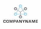 Logo, Abstrakt, Kugeln, Geometrisch