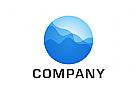 Logo, Kugel, Planet, Wasser, Sphere, Globe