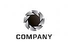 Logo, Blende, Fotogafie, Kreis, Rund, Abstrakt